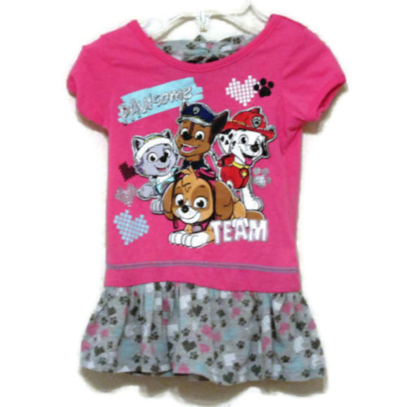 e2b223defce15 Nickelodeon Dresses | Paw Patrol Toddler Girls Pawsome Teamwork Tutu ...